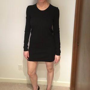Theory Lou Evian Stretch Sweater Dress